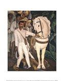 Agrarian Leader Zapata Art Print