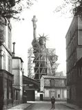 Statue of Liberty in Paris, 1886 Art Print