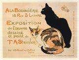 A la Bodiniere / Exposition Steinlen Art Print
