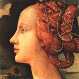 Portrait of Simonetta Vespucci (detail) Art Print