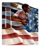 1955 Montgomery Bus Boycott Art Print