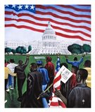 1963 March on Washington Art Print