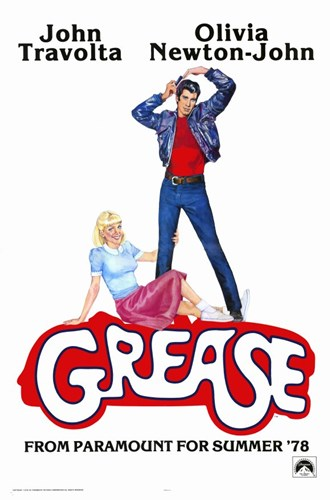 Grease John Travolta Olivia Newton-John