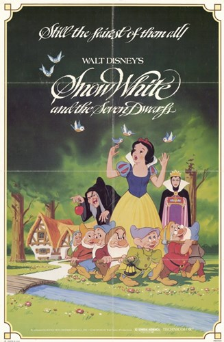 Snow White and the Seven Dwarfs with Apple