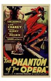 The Phantom of the Opera Lon Chaney Art Print