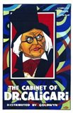 The Cabinet of Dr Caligari - man with glasses Art Print