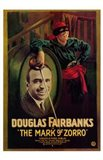 The Mark of Zorro Douglas Fairbanks Art Print