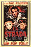 La Strada Film In Italian Art Print