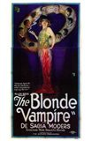 The Blonde Vampire Art Print