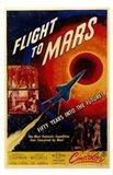 Flight to Mars Art Print