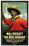 The Bull Dogger Art Print