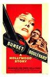 Sunset Boulevard A Hollywood Story Art Print