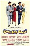 Guys and Dolls Brando Simmons Sinatra Blaine Art Print