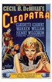 Cleopatra Cecil B. DeMille Art Print