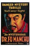 Mysterious Dr Fu Manchu Art Print