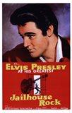 Jailhouse Rock Elvis Presley at his Greatest Art Print