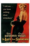 The Lady from Shanghai, c.1948 Art Print