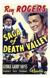 Saga of Death Valley Art Print