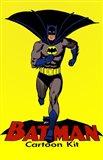 Batman Cartoon Kit Art Print