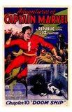 Adventures of Captain Marvel - style A Art Print