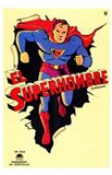 Superman Vintage Art Print