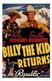 Billy the Kid Returns Art Print