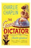 The Great Dictator - Charlie Chaplin Art Print
