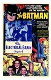 Batman The Electrical Brain Art Print