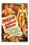 Tarzan and the Leopard Woman, c.1946 - style A Art Print