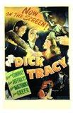 Dick Tracy  Detective Art Print