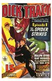 Dick Tracy The Spider Strikes Art Print