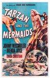 Tarzan and the Mermaids, c.1948 Art Print