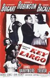 Key Largo Black and Red Art Print