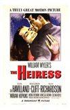 The Heiress (movie poster) Art Print