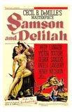 Samson Delilah Art Print