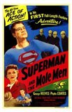 Superman and the Mole Men Art Print