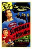 Superman and the Mole Men Art Print