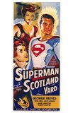 Superman in Scotland Yard Art Print