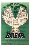 Dr Who and the Daleks Art Print