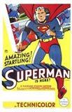 Superman Amazing & Startling! Art Print