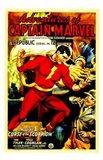Adventures of Captain Marvel - style B Art Print