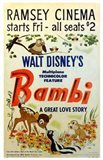 Bambi A Great Love Story Art Print