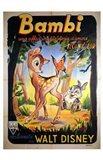 Bambi Walt Disney Art Print