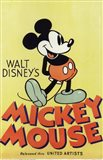 Walt Disney's Mickey Mouse Art Print
