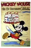 Mickey Mouse in His 8Th Birthday Celebra Art Print