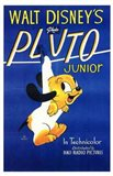 Pluto Junior Art Print
