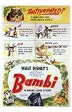 Bambi Scenes Art Print