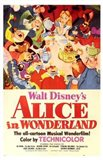 Alice in Wonderland Disney Art Print