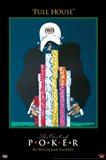 World Series of Poker Full House Art Print