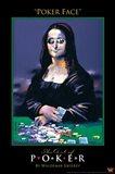 World Series of Poker Poker Face Art Spoof Art Print